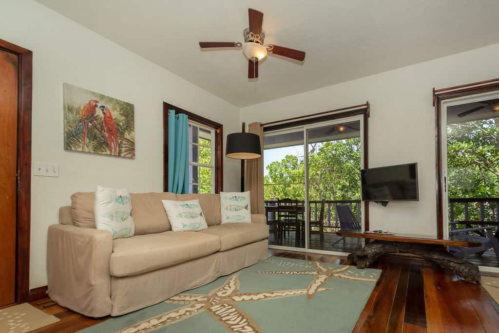 Tarpon House - Living Room