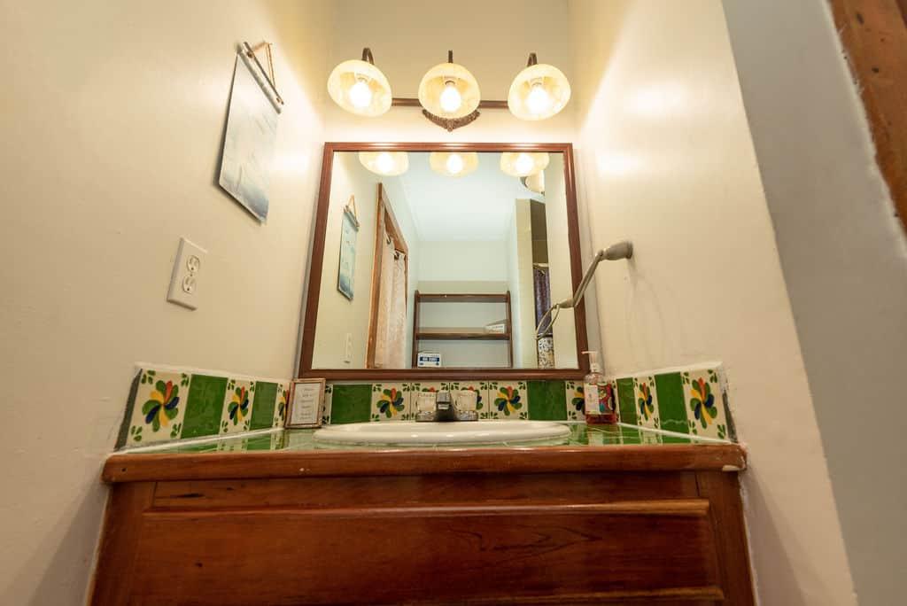Barraca House - Bathroom Mirror