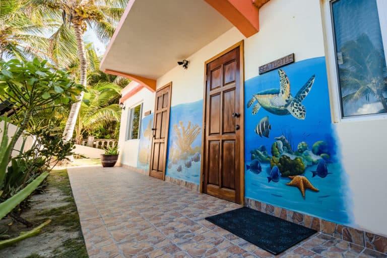 Sea Turtle Suite Entrance